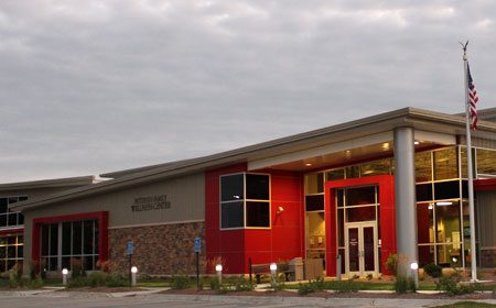 Petersen Family Wellness Center and Lewis Aquatic Center