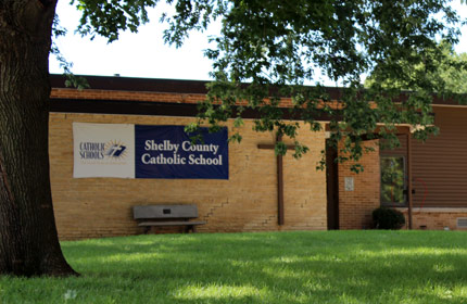 Shelby County Catholic School.
