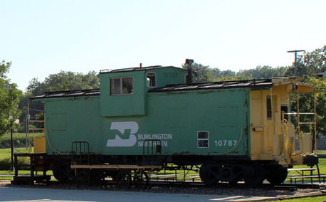 Picture of Shelby County Rock Island Depot train
