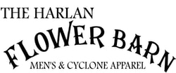 Chamber Member: The Harlan Flower Barn logo.