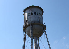 Picture of Earling water tower.