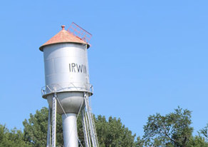 Picture of Irwin's water tower