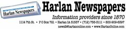 Chamber Member: The Harlan Tribune logo.